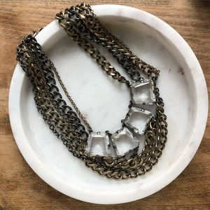 J.Crew dramatic collar necklace